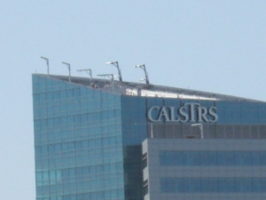 New CalSTRS building