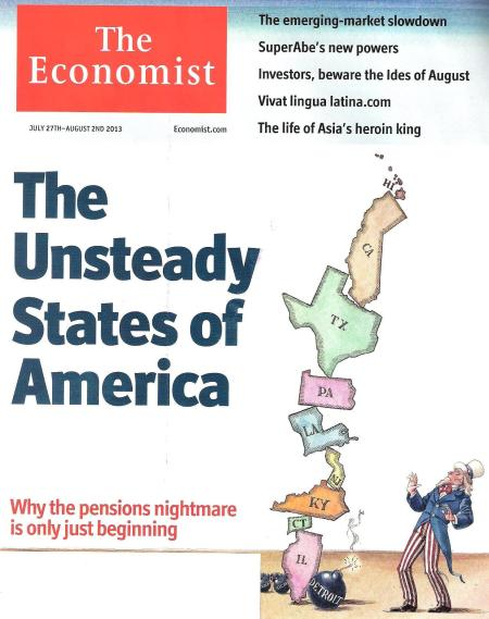The Economist magazine cover, July 27-August 2 2013 issue