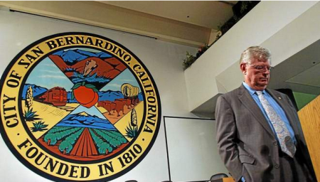 Voters recalled 26-year San Bernardino City Attorney James Penman           (Rick Sforza/San Bernardino Sun)