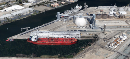 Port of Stockton (Google Earth)