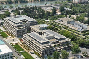 CalPERS complex covers four city blocks