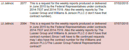 From CalPERS Public Records Act summary report August 2015